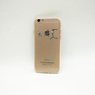 용 아이폰6케이스 / 아이폰6플러스 케이스 투명 / 패턴 케이스 뒷면 커버 케이스 단색 소프트 TPU iPhone 6s Plus/6 Plus / iPhone 6s/6