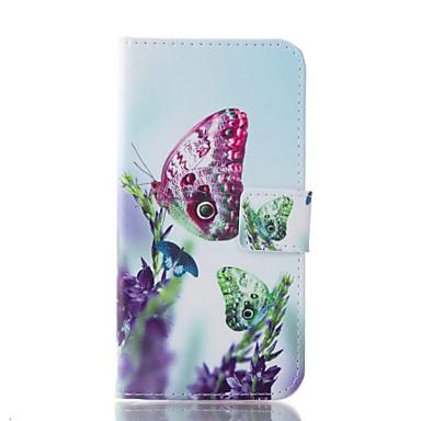 케이스 제품 Samsung Galaxy 삼성 갤럭시 케이스 카드 홀더 지갑 스탠드 전체 바디 케이스 버터플라이 소프트 PU 가죽 용 J7 (2016) J5 (2016) J1 (2016)