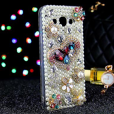 케이스 제품 Samsung Galaxy 삼성 갤럭시 케이스 크리스탈 뒷면 커버 글리터 샤인 TPU 용 J7 J5