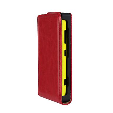 Mert Nokia tok Flip Case Teljes védelem Case Egyszínű Kemény Műbőr Nokia Nokia Lumia 620 / Nokia Lumia 530 / Nokia Lumia 520