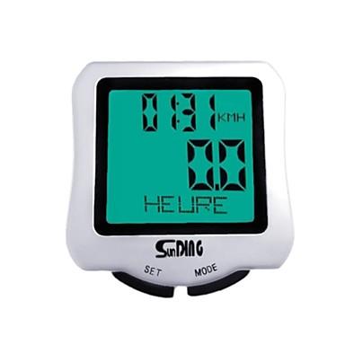 레크 리에이션 사이클 / 산악 자전거 / 도로 자전거 / MTB / BMX / 고정 기어 자전거 자전거 시계백라이트 / Tme - Lapsed Time / 방수 / 최대-최대 속도 / 주행 기록계 / SPD - 현재 속도 / 설정 (km / M)