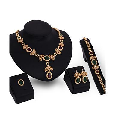 Pentru femei Seturi de bijuterii Mai multe pietre Personalizat Vintage Euramerican Nuntă Ocazie specială Zi de Naștere Pietre sintetice