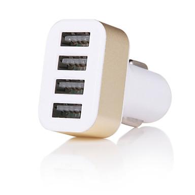 cwxuan® intelligens gyors töltés 4 portos usb autós töltő iphone 8 7 samsung s8 s76 5 5s s4 5 htc lg