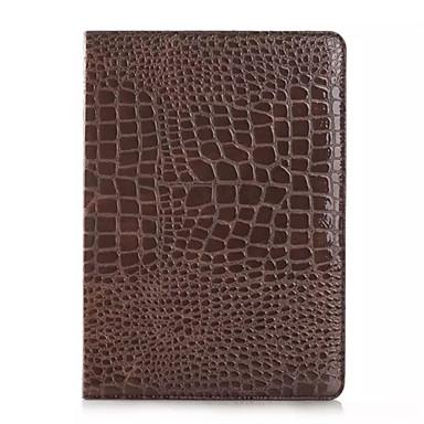 divat magas minőségű vékony krokodilbőr tok iPad levegő okosborító állvánnyal aligátor mintás ügy