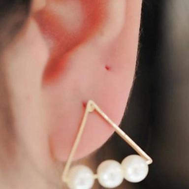 Női Gyöngy Beszúrós fülbevalók - Divat Kompatibilitás Napi Hétköznapi