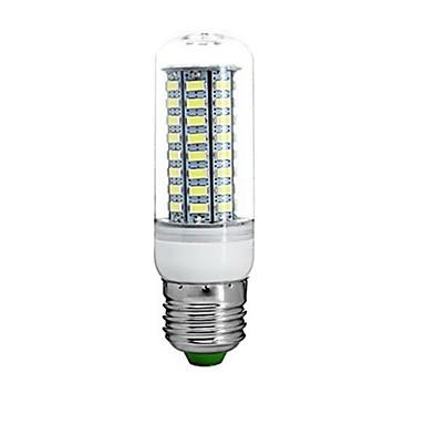 E26/E27 LED-maïslampen Verzonken ombouw 72 leds SMD 5730 Waterbestendig Decoratief Warm wit Koel wit 3000-3500/6000-6500/7500-8500lm