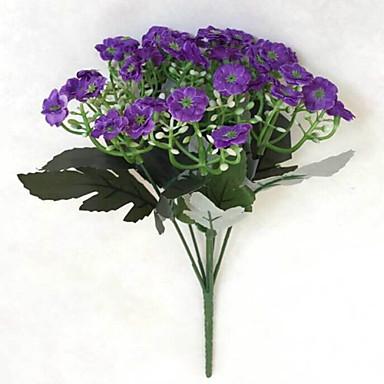 Flores artificiais 1 Ramo Estilo simples Orquideas Flor de Mesa