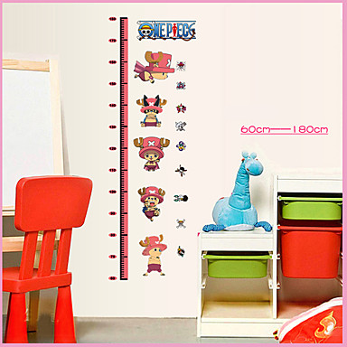 정물 패션 만화 Leisure 벽 스티커 플레인 월스티커 하이트 스티커, 비닐 홈 장식 벽 데칼 벽