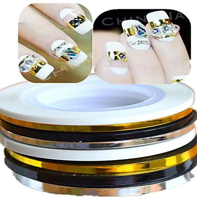 1 Nail Art matrica Absztrakt Szeretetreméltő Esküvő smink Kozmetika Nail Art Design