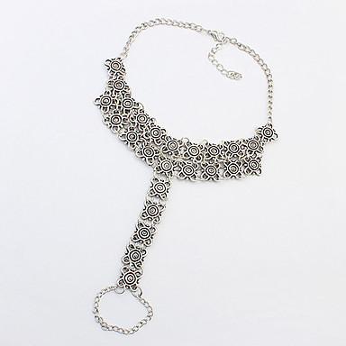 Női Bokalánc/Karkötők Ötvözet Divat Régies (Vintage) Ezüst Női Ékszerek Napi Hétköznapi 1db