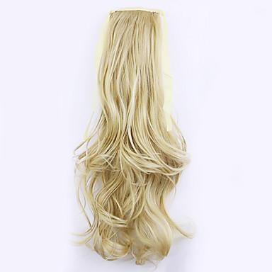 arany hossza 50cm közvetlen gyári értékesítése kötődnek típusú göndör haj zsurló lófarok (színes 25/613)