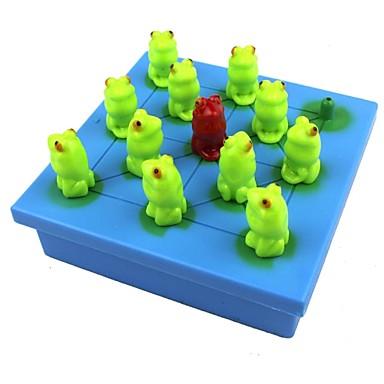 Sakk Szoliter táblajáték Fejlesztő játék Játékok Béka Műanyag Papír 1 Darabok Gyermek Felnőttek Ajándék