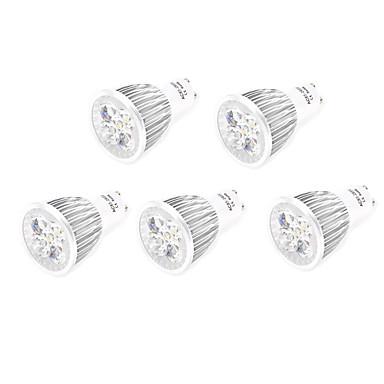 5pcs 7w gu10 / e27 привело прожектор 5 высокой мощности привели 800lm теплый белый холодный белый декоративный ac85-265v