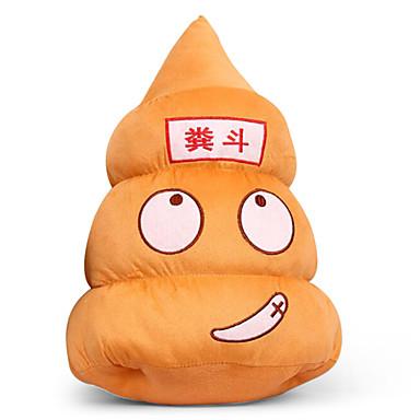 지방 인형 20cm, 투쟁, 흡입 컵 창조적 인 봉제 인형 새로운 이상한 선물 큰 배설물 베개 싸움