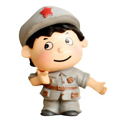 흰색, 회색 모델& 건물 장난감 인형 장난감 소년