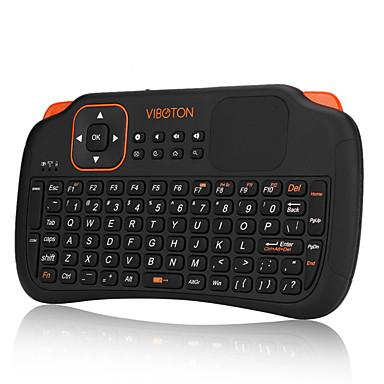 mini 2,4 fly játék levegő egér vezeték nélküli billentyűzet távirányító pc laptop asztali touchpad