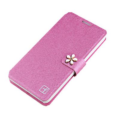 Mert Samsung Galaxy S7 Edge Kártyatartó / Strassz / Állvánnyal / Flip Case Teljes védelem Case Egyszínű Kemény Fém SamsungS7 edge / S7 /