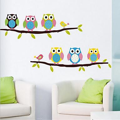 Животные Натюрморт Мода Отдых Наклейки Простые наклейки Декоративные наклейки на стены, ПВХ Украшение дома Наклейка на стену Стена