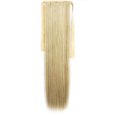 녹색 직선 혼합 긴 직선 머리 가발 피부색 6백13분의 60