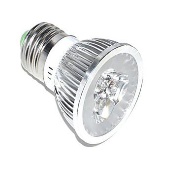 1 개 3W 250lm E26 / E27 성장하는 전구 3 LED 비즈 고성능 LED 장식 블루 레드 85-265V