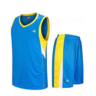 남성의-통기성 / 빠른 드라이 / wicking-민 소매-레저 스포츠 / 배드민턴 / 농구 / 달리기-의류 세트/수트(Others)