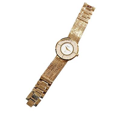여성용 패션 시계 석영 일본 쿼츠 캐쥬얼 시계 스테인레스 스틸 밴드 실버 골드 로즈 골드