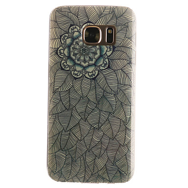 Mert Samsung Galaxy S7 Edge Minta Case Hátlap Case Mandala Puha TPU SamsungS7 edge / S7 / S6 edge / S6 / S5 Mini / S5 / S4 Mini / S4 / S3