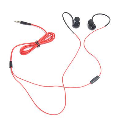 Ufeeling Ufeeling U12 귀에 유선 헤드폰 동적 나무 스포츠 및 피트니스 이어폰 마이크 포함 헤드폰