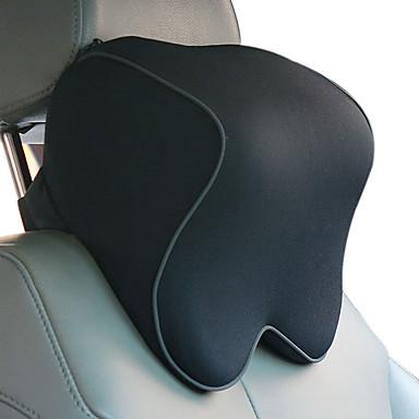 voordelige Autostoelcovers & Accessoires-autohoofdsteunen zwart katoen functioneel gemeenschappelijk voor universeel alle modellen materiaal katoenen autostoel hoofdsteun