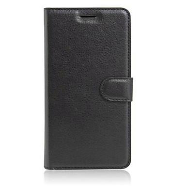 케이스 제품 그외 Xiaomi 미 케이스 카드 홀더 지갑 스탠드 플립 전체 바디 케이스 한 색상 하드 PU 가죽 용