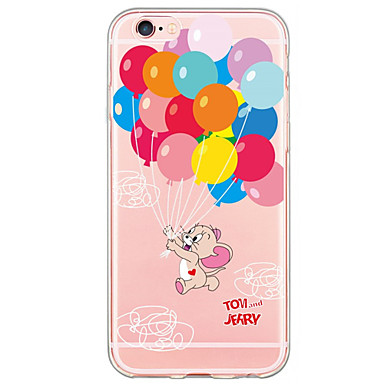 제품 iPhone X iPhone 8 iPhone 6 iPhone 6 Plus 케이스 커버 울트라 씬 패턴 뒷면 커버 케이스 풍선 소프트 TPU 용 Apple iPhone X iPhone 8 Plus iPhone 8 iPhone 6s Plus