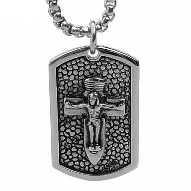 A Jézus keresztje márka titán medál nyaklánc