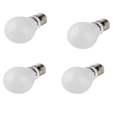 E26/E27 LED 글로브 전구 A60(A19) 10 LED가 SMD 5730 장식 따뜻한 화이트 420lm 3000K AC 85-265 AC 220-240 AC 100-240 AC 110-130V