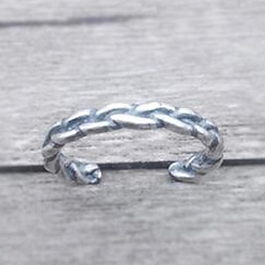 Férfi Női Karikagyűrűk Divat Ezüst Ékszerek Kompatibilitás Napi Hétköznapi
