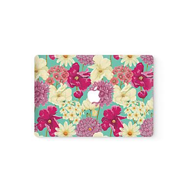 1 db Tok matrica mert Karcolásvédő Virág Ultravékony Matt PVC MacBook Pro 15'' with Retina MacBook Pro 15 '' MacBook Pro 13'' with Retina