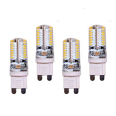 550 lm G9 LED betűzős izzók T 64 led SMD 3014 Dekoratív Meleg fehér Hideg fehér AC 200-240V AC 220-240V