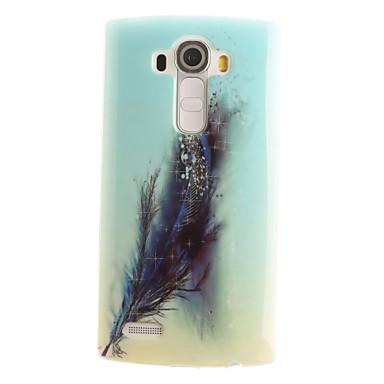 Case Kompatibilitás LG Mini G3 Egyéb LG LG G4 LG tok Minta Fekete tok Tollak Puha TPU mert