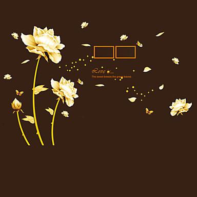 Csendélet Divat Virágok Botanikus Mondások & Idézetek Szabadidő Falimatrica Repülőgép matricák Képragasztók, PVC lakberendezési fali