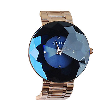 여성용 드레스 시계 패션 시계 석영 일본 쿼츠 캐쥬얼 시계 스테인레스 스틸 밴드 럭셔리 골드