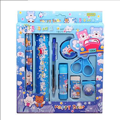 어린이 문구 선물 상자 편지지 크리스마스 선물 임의의 색상