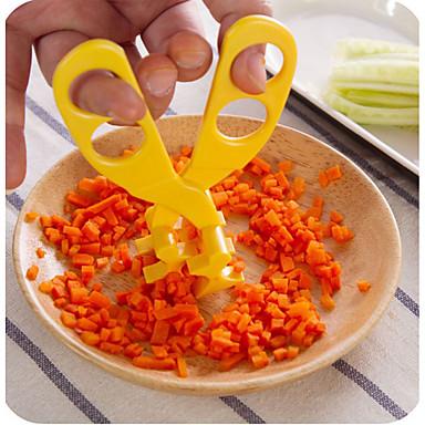 1개 가위 For 야채에 대한 플라스틱 크리 에이 티브 주방 가젯