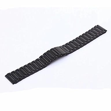 Watch Band varten Gear S3 Classic Samsung Galaxy Perinteinen solki Metalli Ruostumaton teräs Rannehihna