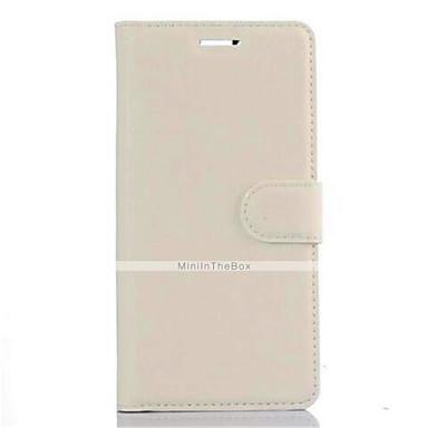 Para Capinha Huawei / P9 Carteira / Porta-Cartão / Com Suporte Capinha Corpo Inteiro Capinha Cor Única Rígida Couro PU Huawei Huawei P9
