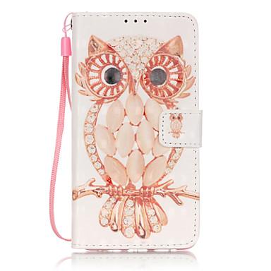 Mert Huawei tok P9 Lite Kártyatartó Pénztárca Flip Case Teljes védelem Case Other Puha Műbőr mert Huawei Huawei P9 Lite