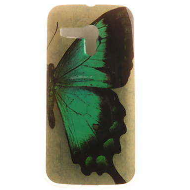 Case Kompatibilitás Moto G Motorola Motorola tok Minta Fekete tok Pillangó Puha TPU mert