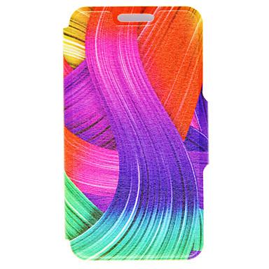 Mert iPhone 6 tok / iPhone 6 Plus tok Kártyatartó / Állvánnyal Case Teljes védelem Case Vonalak / hullámok Kemény Műbőr AppleiPhone 6s