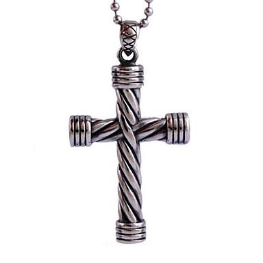 jézus kereszt titán nyaklánc személyiség