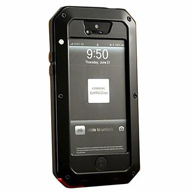 Pouzdro Uyumluluk Apple iPhone 5 Kılıf Şoka Dayanıklı / Toz Geçirmez / Su Resisdansı Tam Kaplama Kılıf Zırh Sert Metal için iPhone 7 Plus / iPhone 7 / iPhone SE / 5s