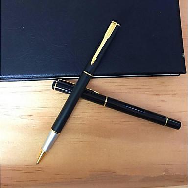 Στυλό Στυλό Στυλό διαρκείας Στυλό, Πλαστική ύλη Μαύρο / Μπλε μελάνι Χρώματα Για Σχολικές προμήθειες Προμήθειες γραφείου Πακέτο