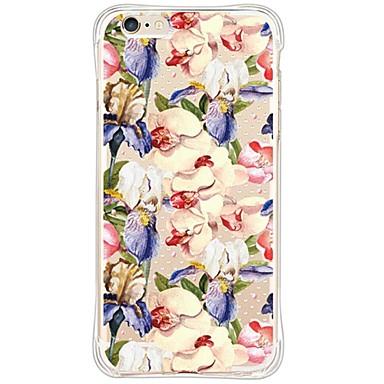 용 아이폰6케이스 / 아이폰6플러스 케이스 충격방지 / 투명 케이스 뒷면 커버 케이스 꽃장식 소프트 TPU Apple iPhone 6s Plus/6 Plus / iPhone 6s/6 / iPhone SE/5s/5